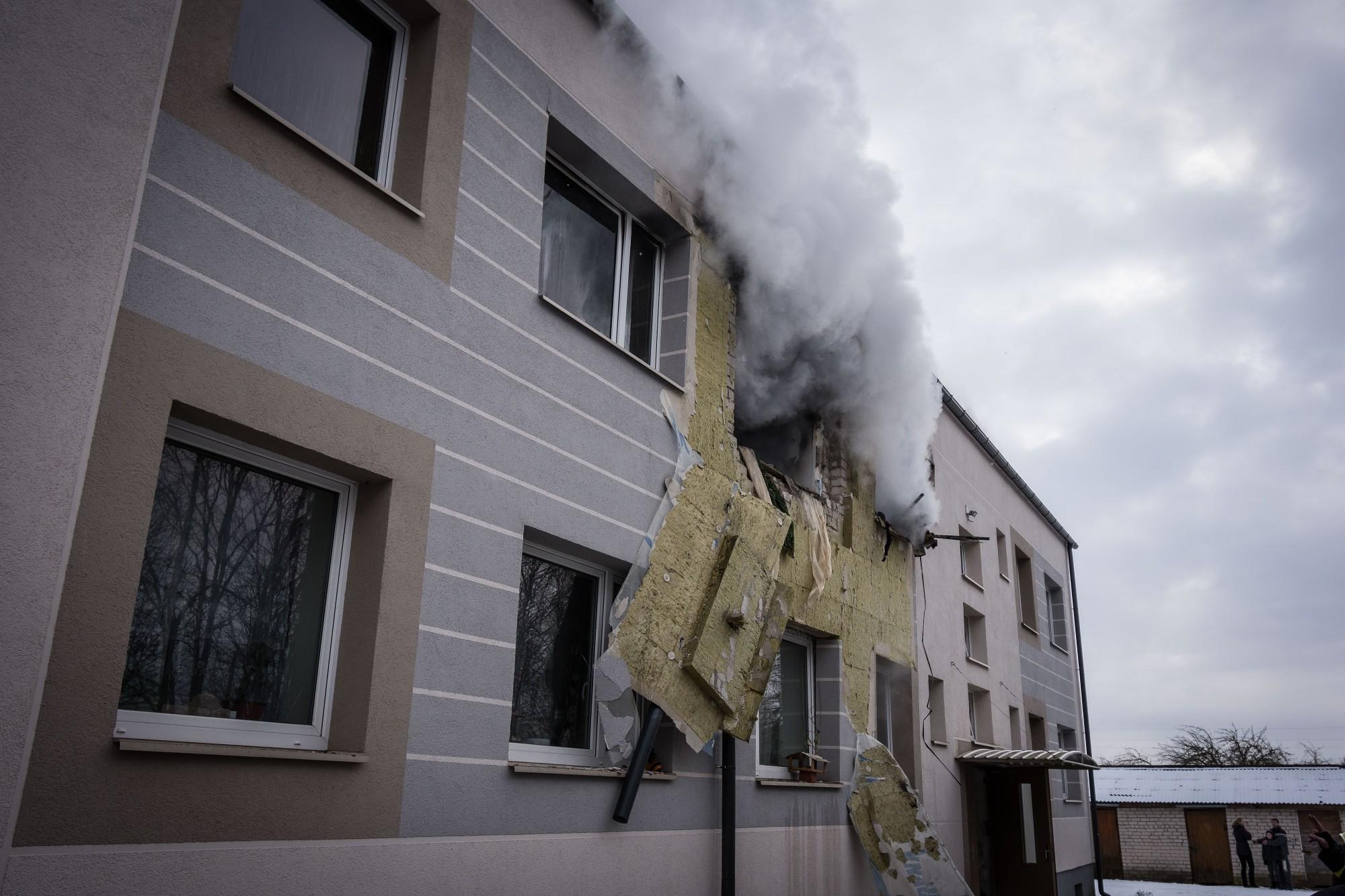 Papildināts (14:59) – Gāzes sprādzienā Nīcā cieš cilvēki