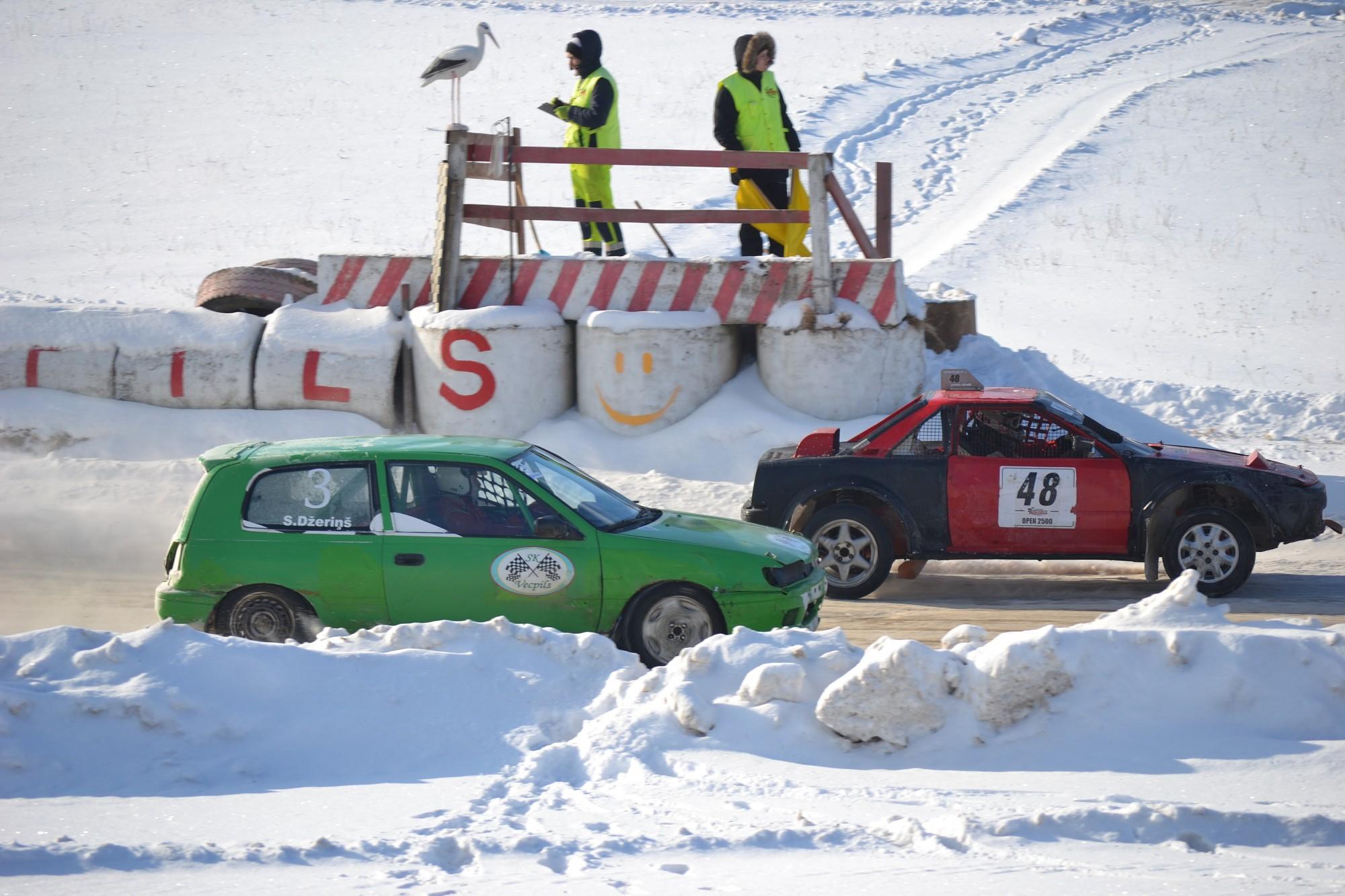 Ziemas sezonas noslēguma sacīkstēs Vecpilī– uz pjedestāla arī mūspuses autosportisti