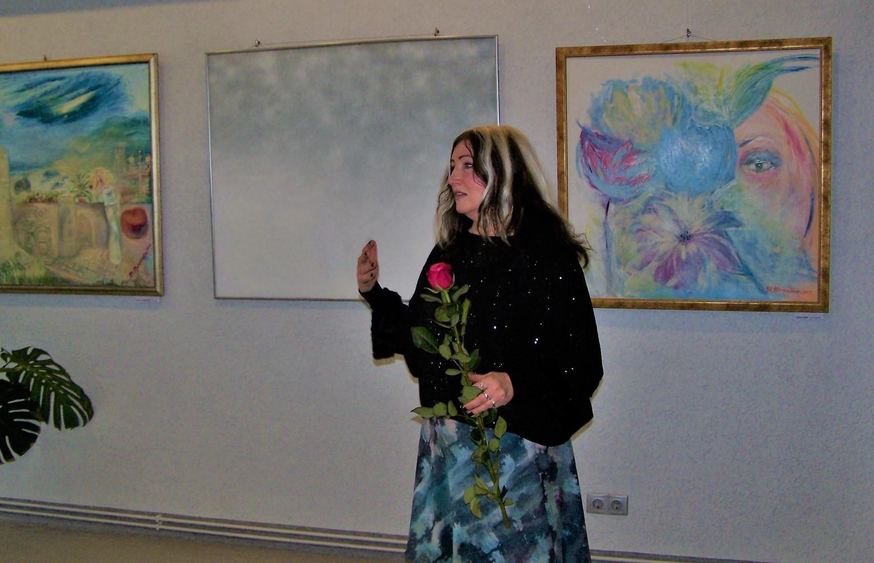 Vienkopus audzēkņu un skolotājas darbi