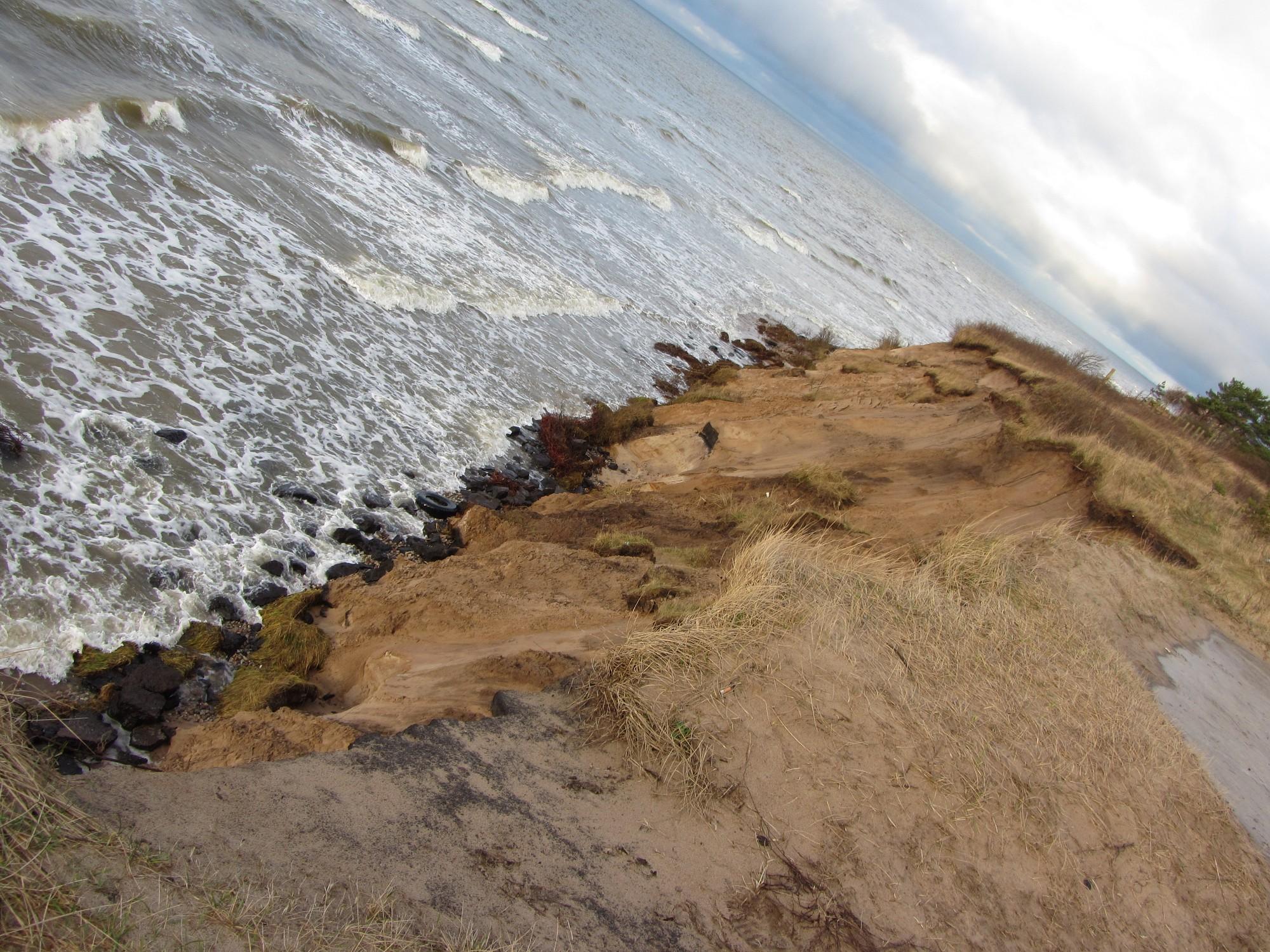 Slēdz līgumu par krasta aizsargbūnu