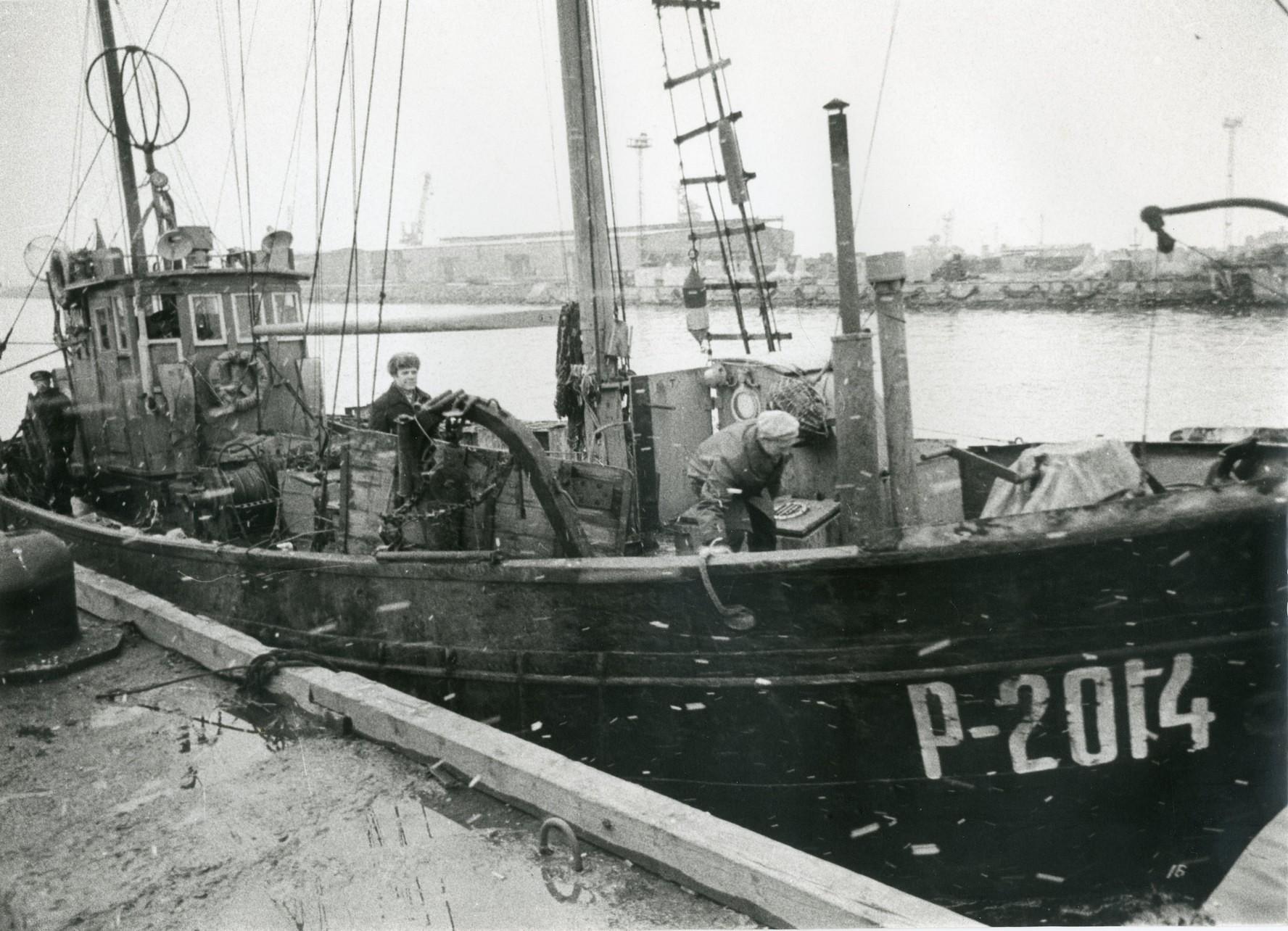 Muzejā būs tikšanās par zvejnieku kolhozu
