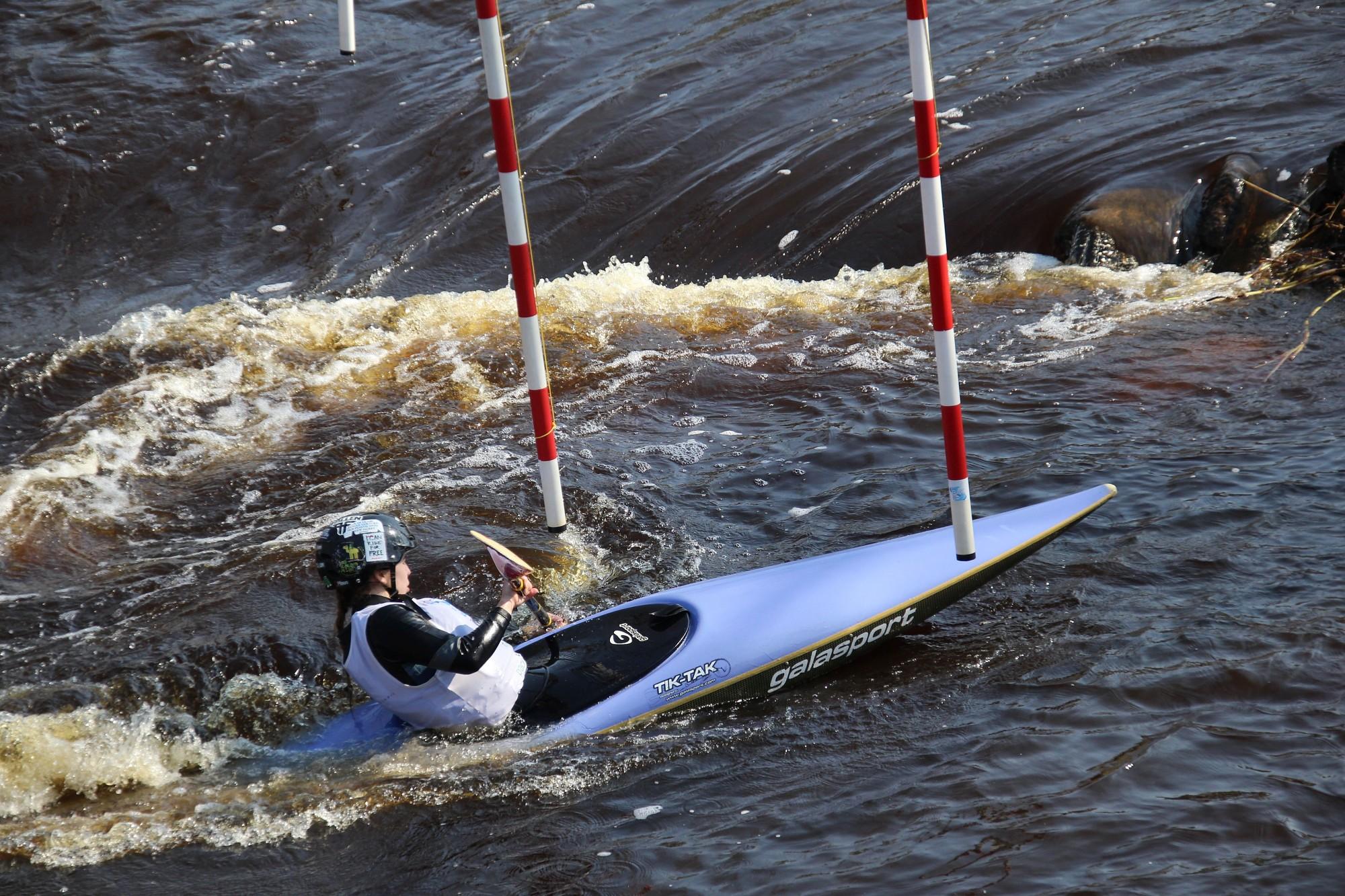 Airēšanas slalomisti atklāja sezonu