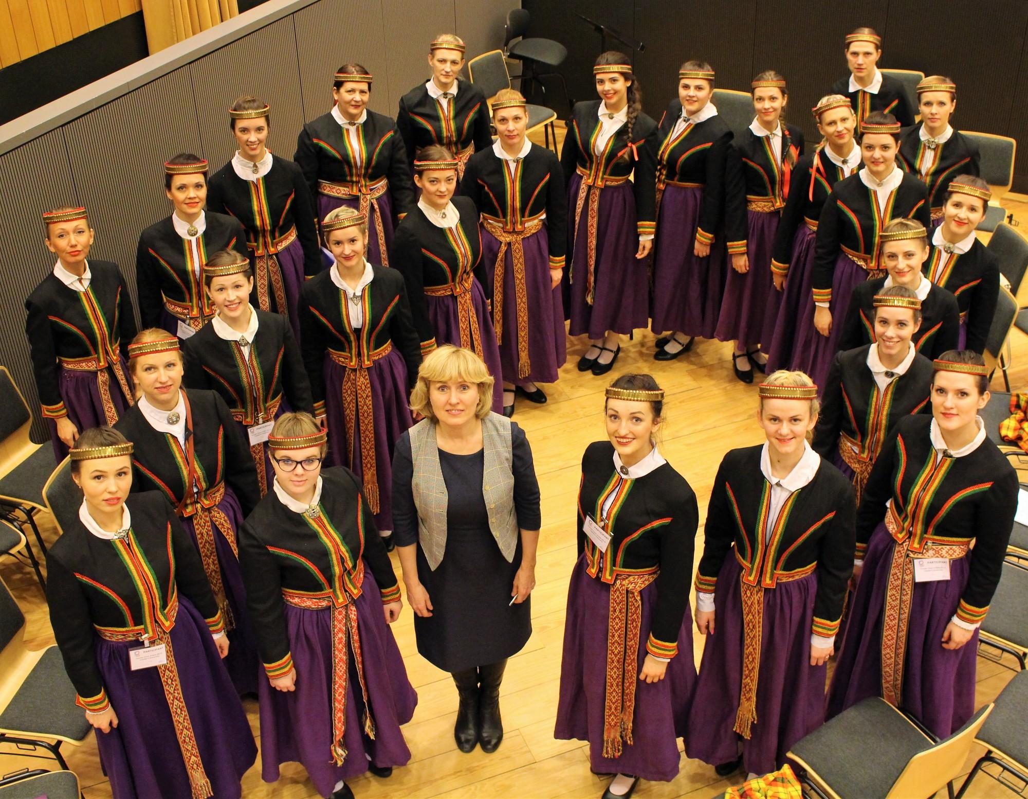 """Sieviešu koru balsīs skanēs """"Baltijas dziesmu pūrs"""""""