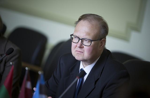 Liepāju darba vizītē apmeklē Igaunijas vēstnieks