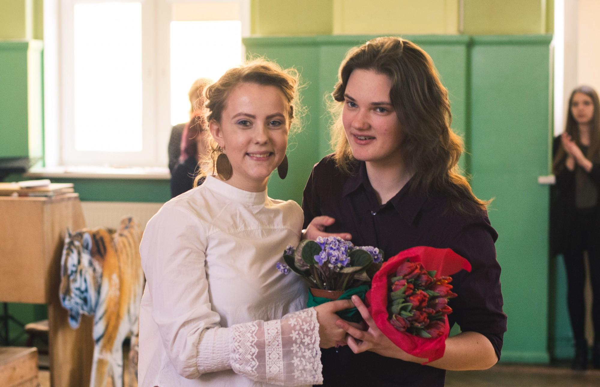 Par Skolēnu domes prezidenti ievēl Montu Ļešči; apbalvo labākās skolēnu pašpārvaldes