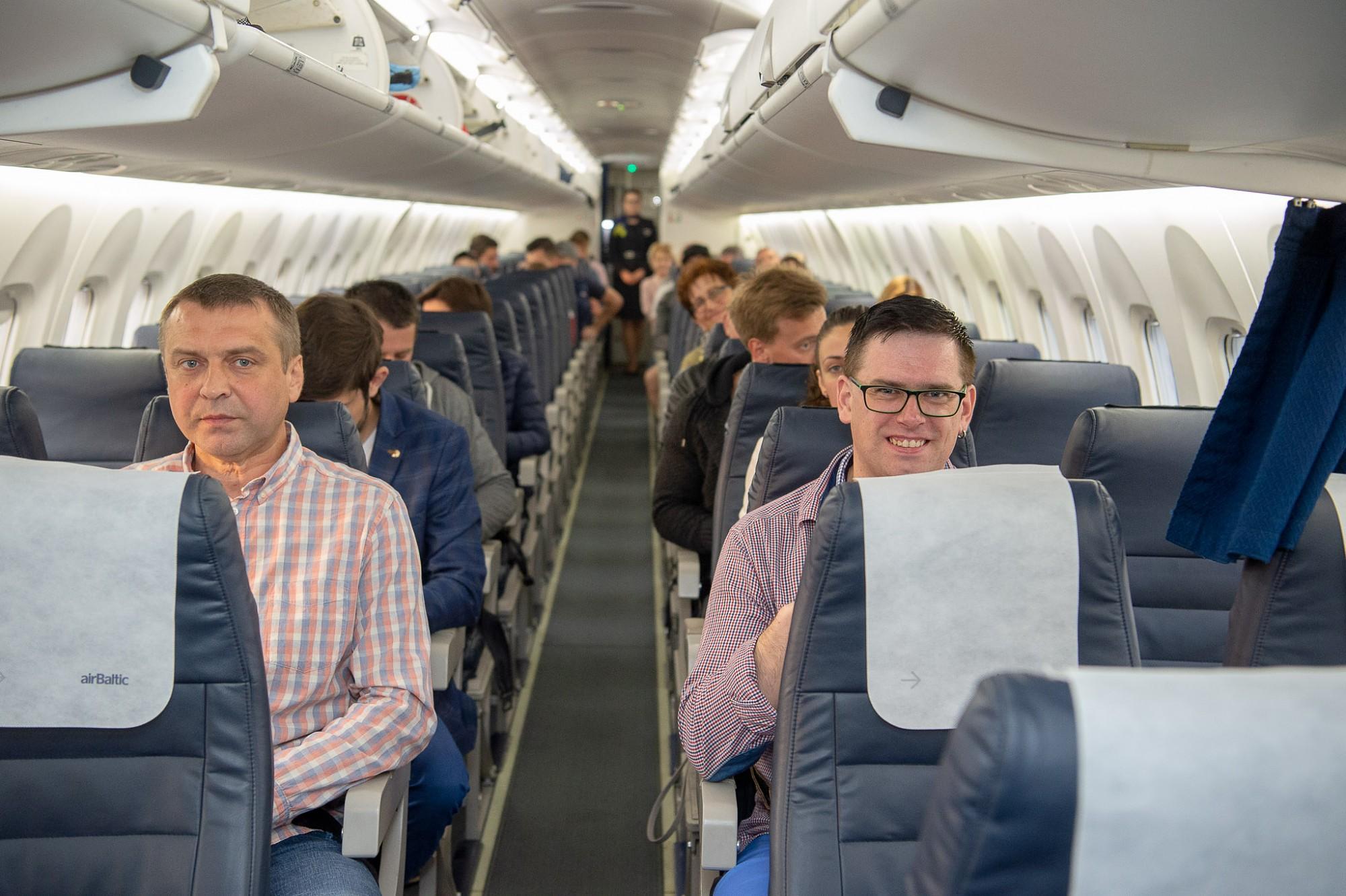 Gada laikā vairāk nekā 9000 pasažieru