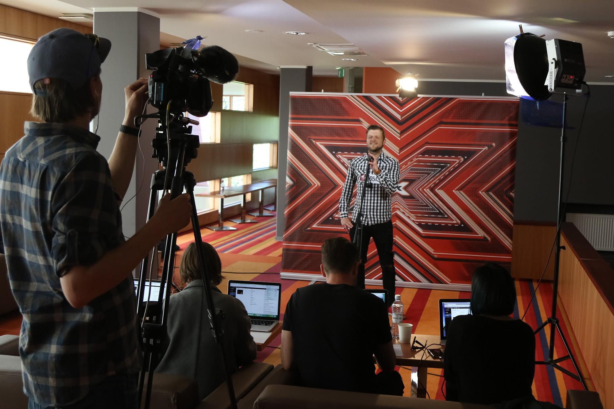 """Muzikālie talanti atkal tiekas šova """"X faktors"""" atlasē"""
