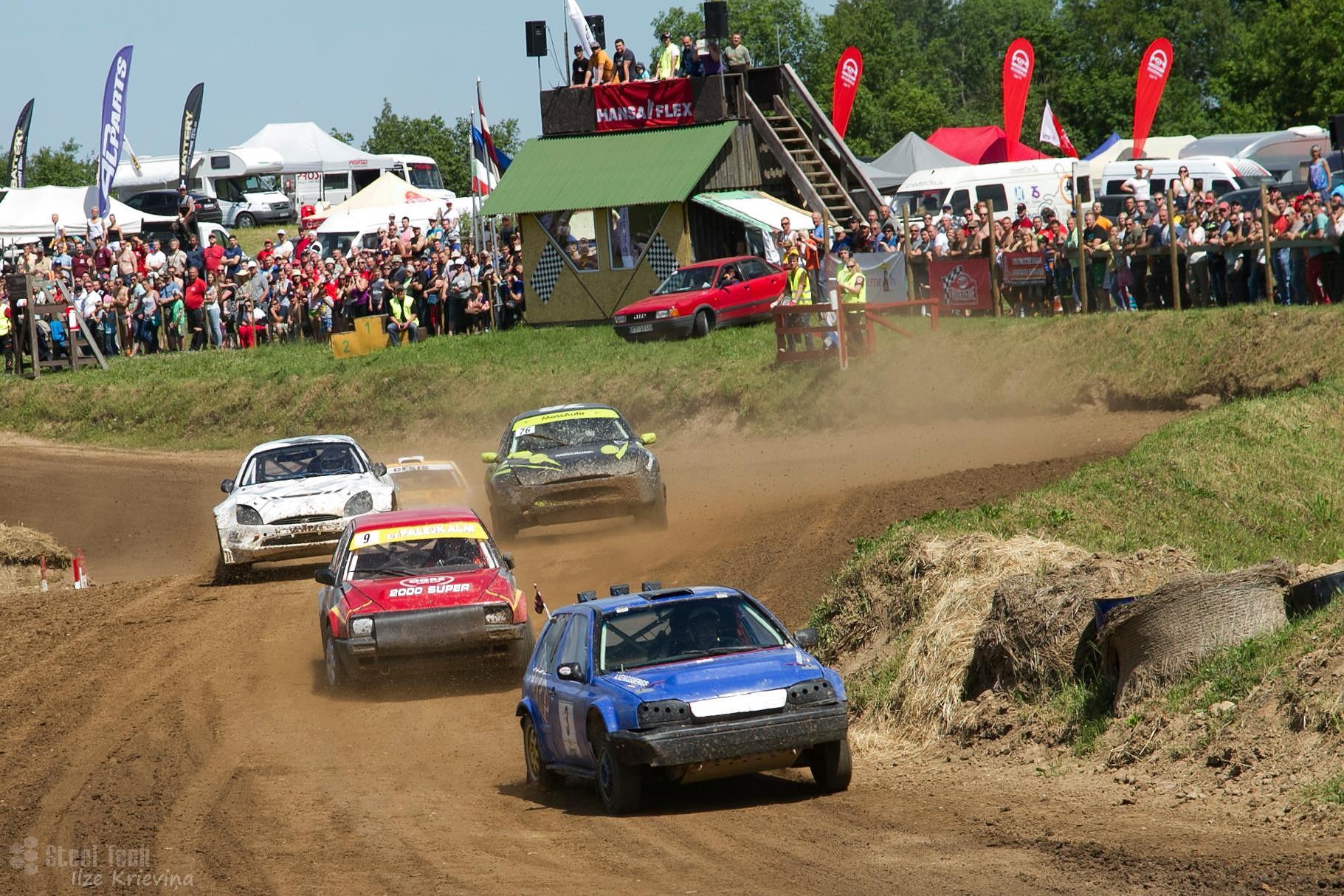 Sestdien Vecpils autotrasē spēkosies ap 60 autosportistu