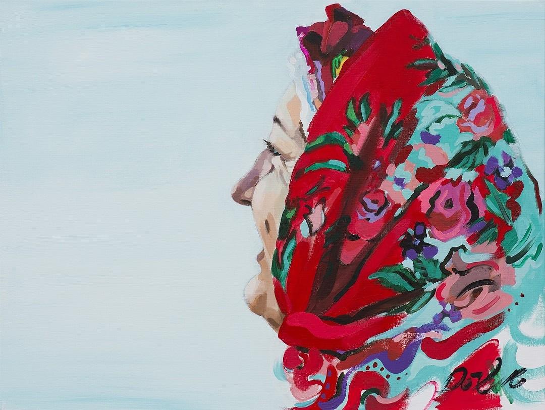 Skatāma mākslinieces Daces Dēliņas-Lipskas izstāde