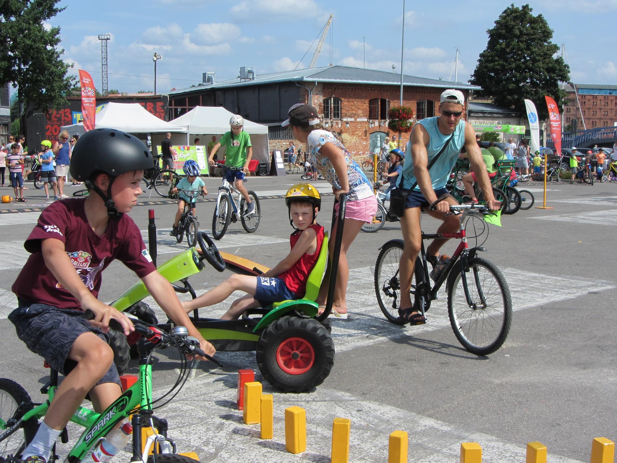 Noskaidroti labākie Bērnu rallija velobraucēji; mājiniekiem mazliet pietrūkst līdz izcilībai