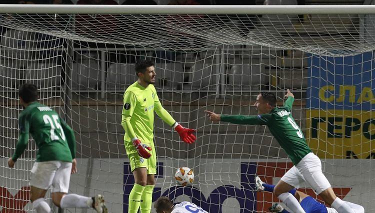 Ikaunieks debitē Eiropas līgas grupu turnīrā