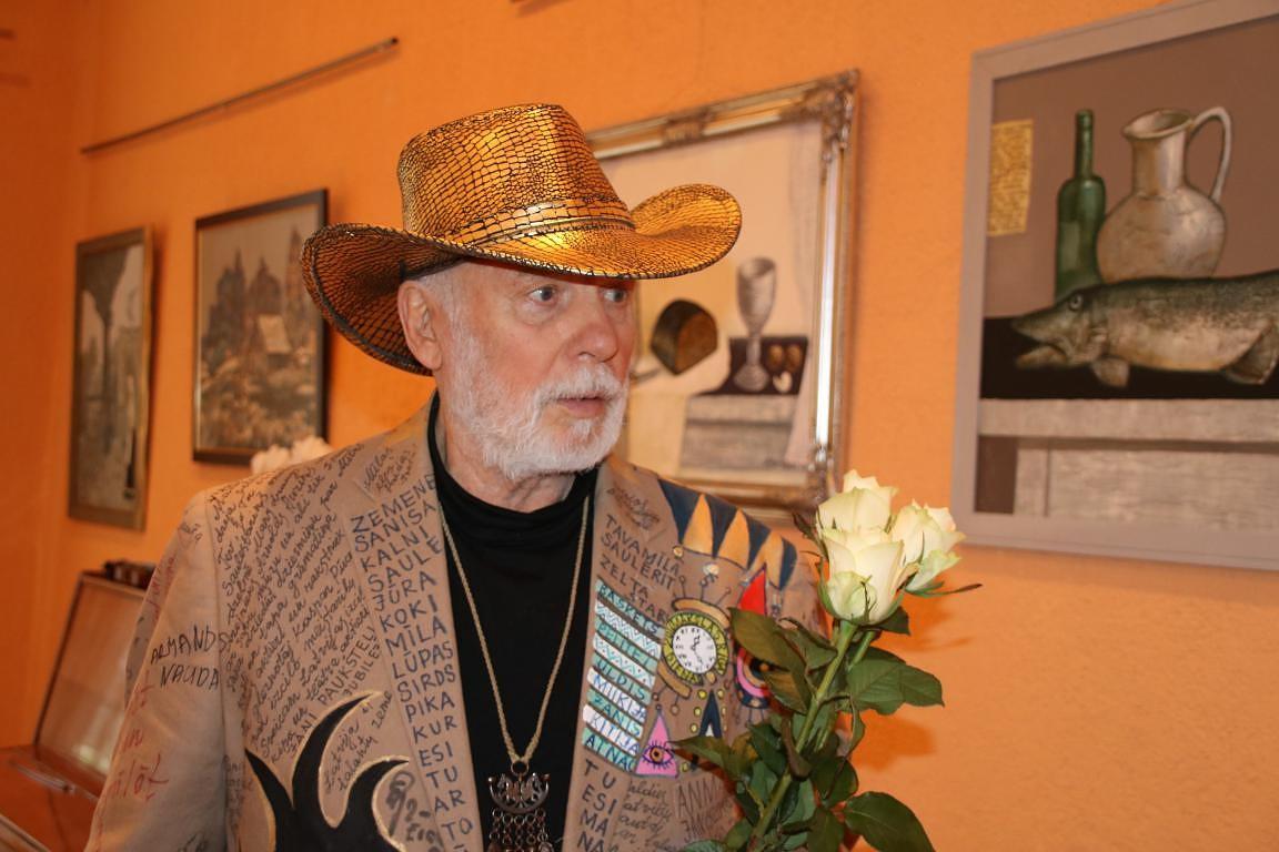 Kalētos viesojās mākslinieks Jānis Anmanis