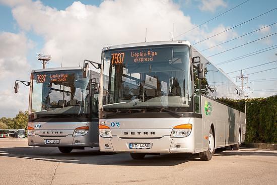 Vēl izvērtē Liepājas autobusu parka darbību