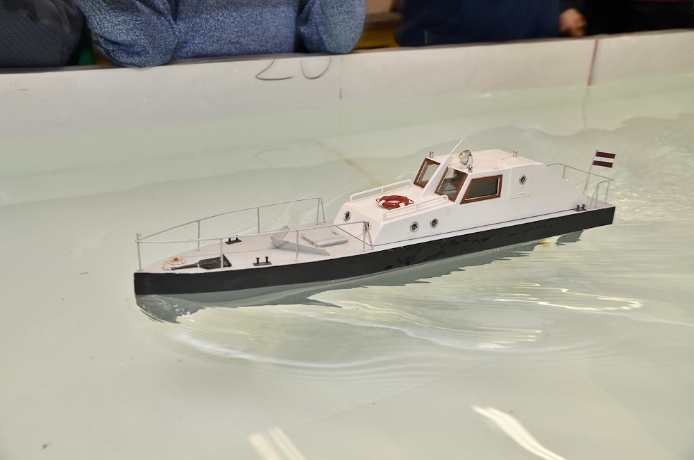 Kuģu modelētāji sacenšas Rīgā