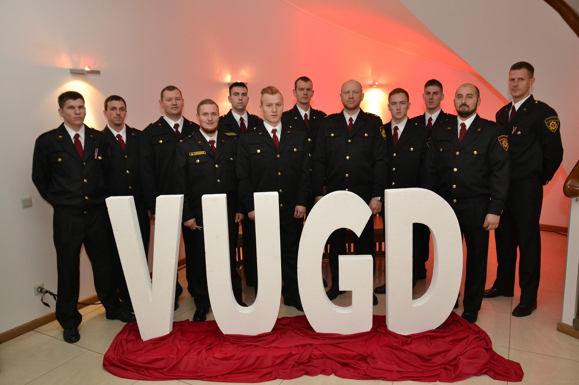VUGD un Kurzemes reģiona brigāde svinīgi pasniedz apbalvojumus