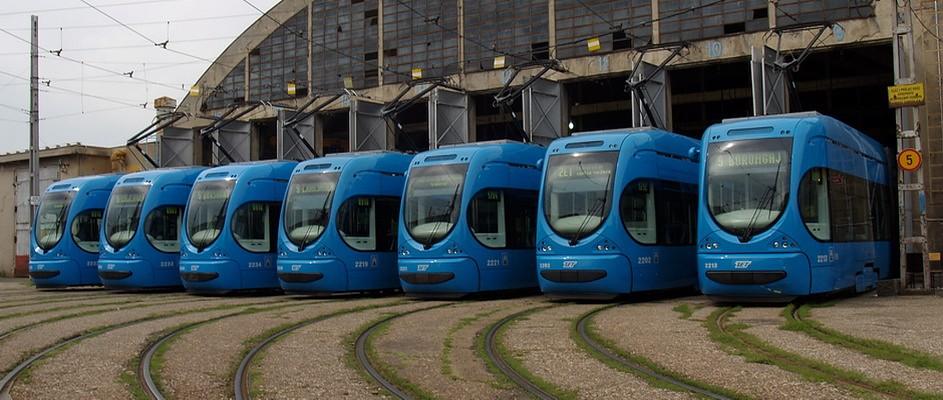 Jaunos tramvaju vagonus piegādās Horvātijas uzņēmums