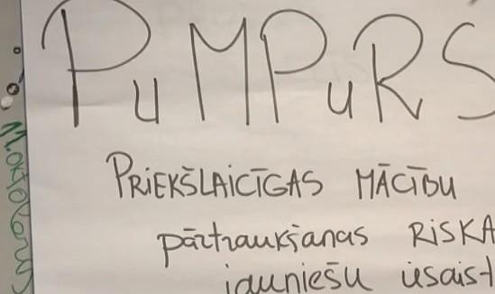 """""""Pumpurs"""" sniedz atbalstu skolēniem mācību apguvē"""