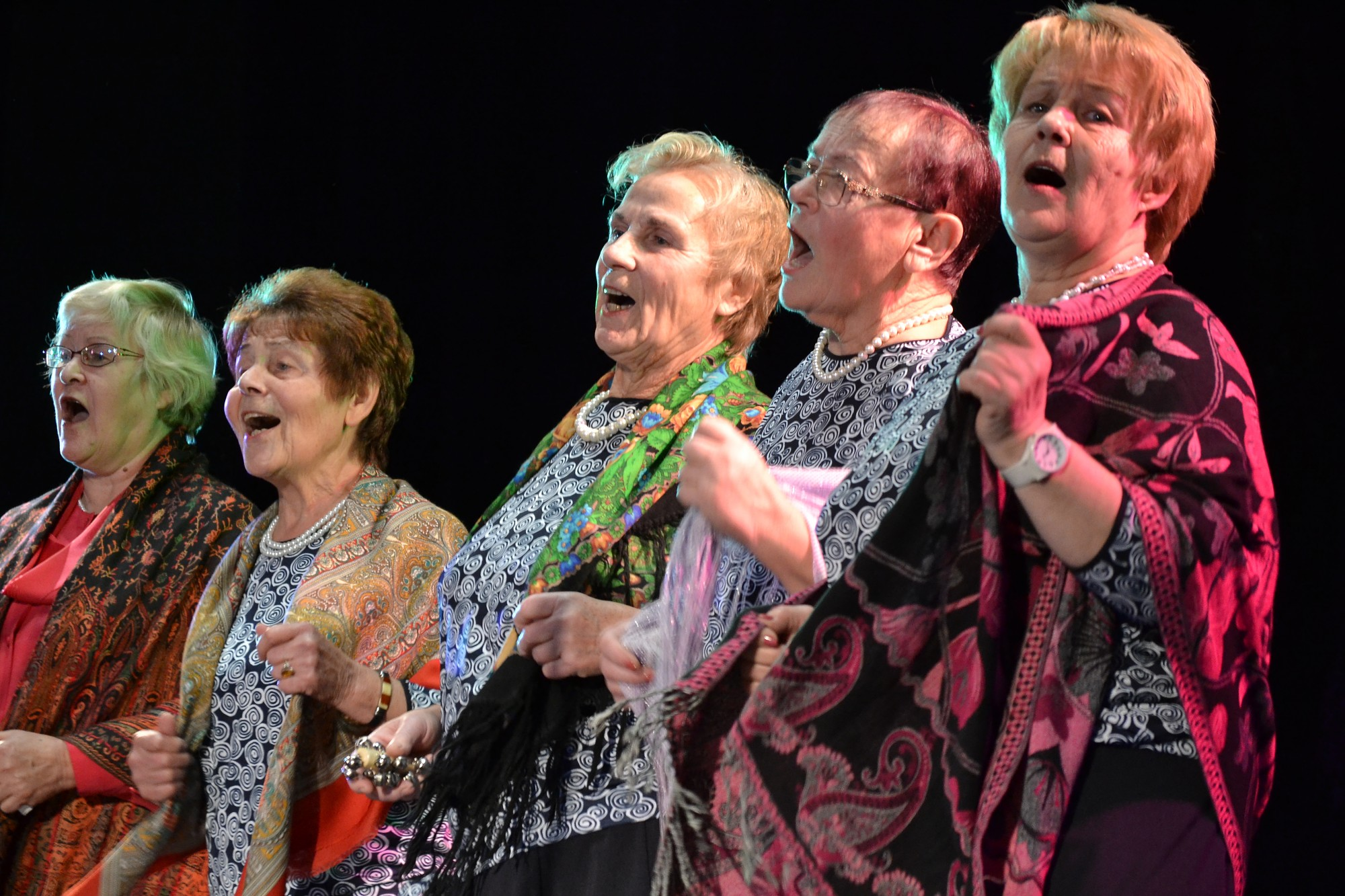 Kurzemes pensionāri svin ar mūziku