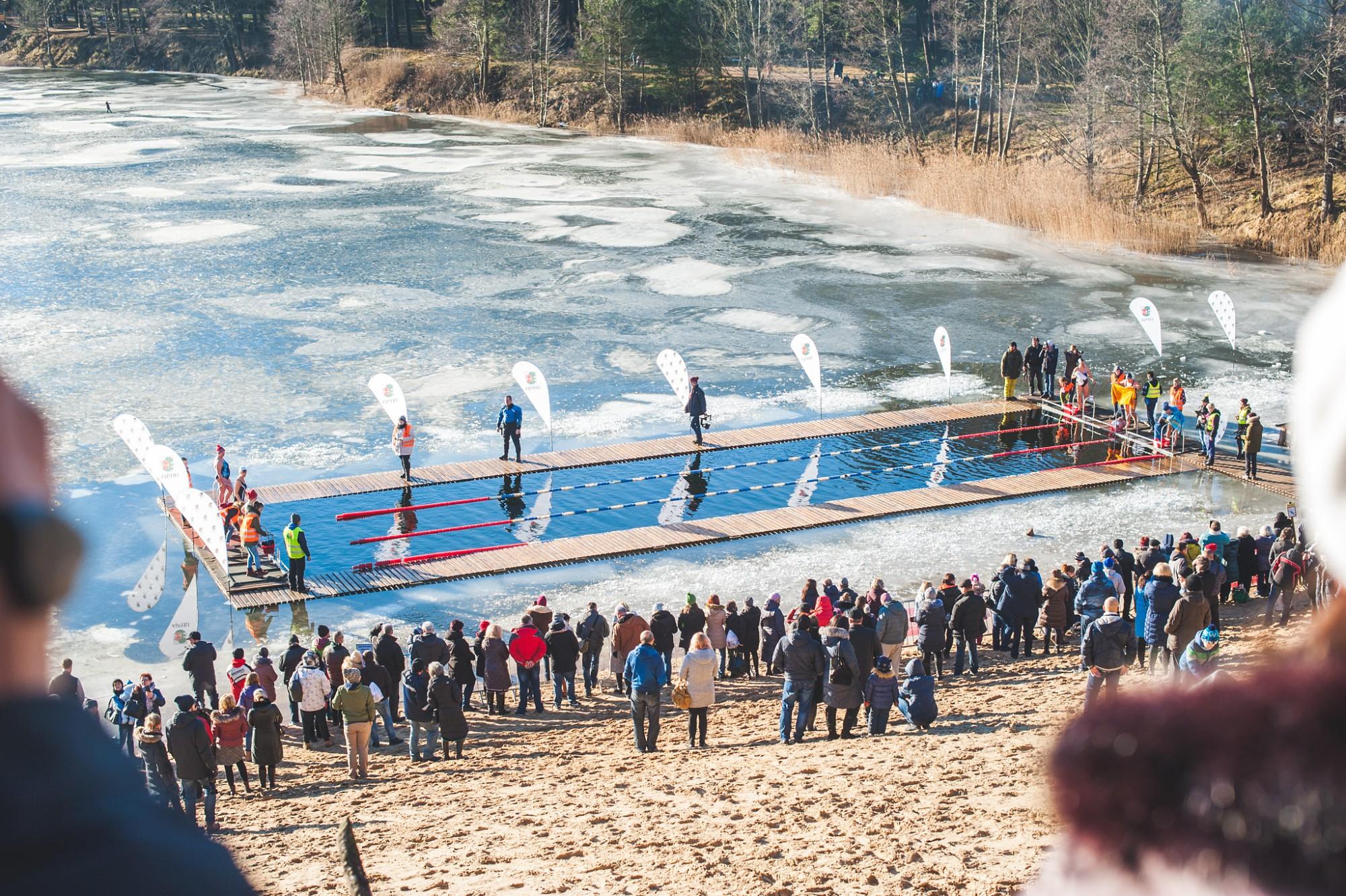 Kur aiziet: Pašmāju un ārzemju ziemas peldētāji sacentīsies meistarībā