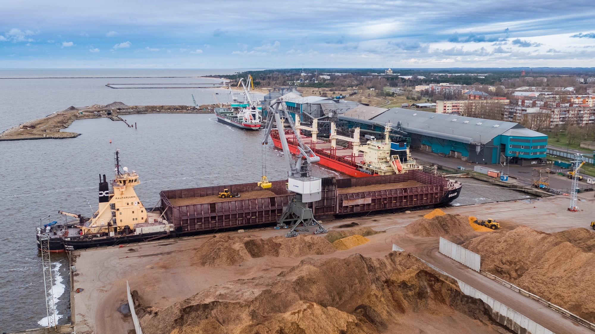 SEZ pārvaldnieks Liepājas ostā šogad prognozē līdzīgu kravu apgrozījumu kā pērn