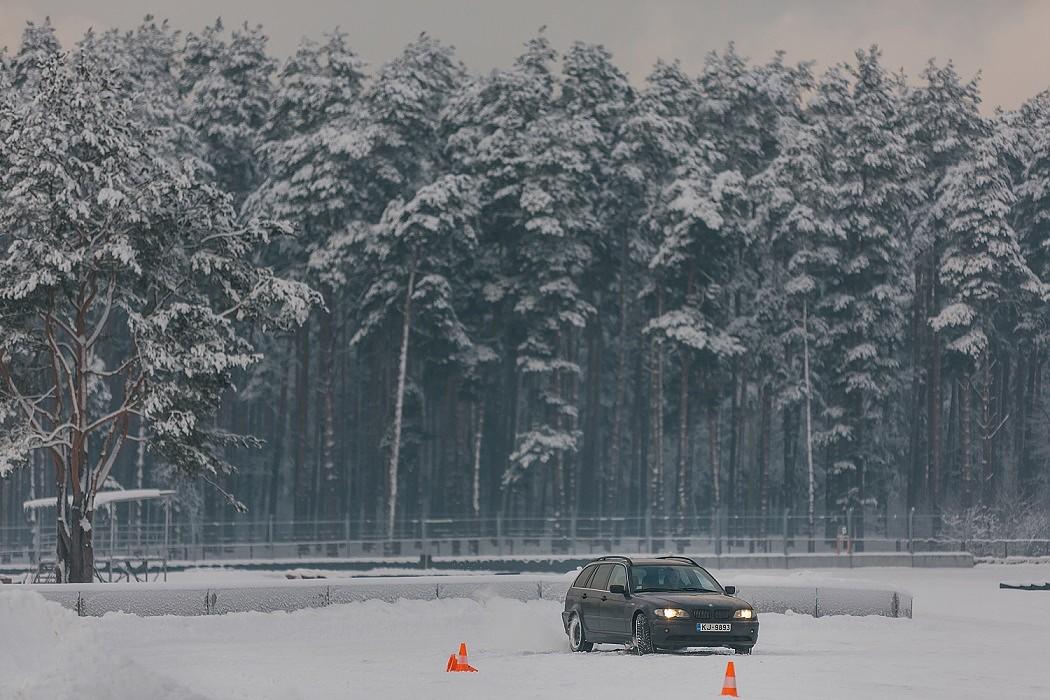 Būs iespēja uzlabot ziemas braukšanas prasmes