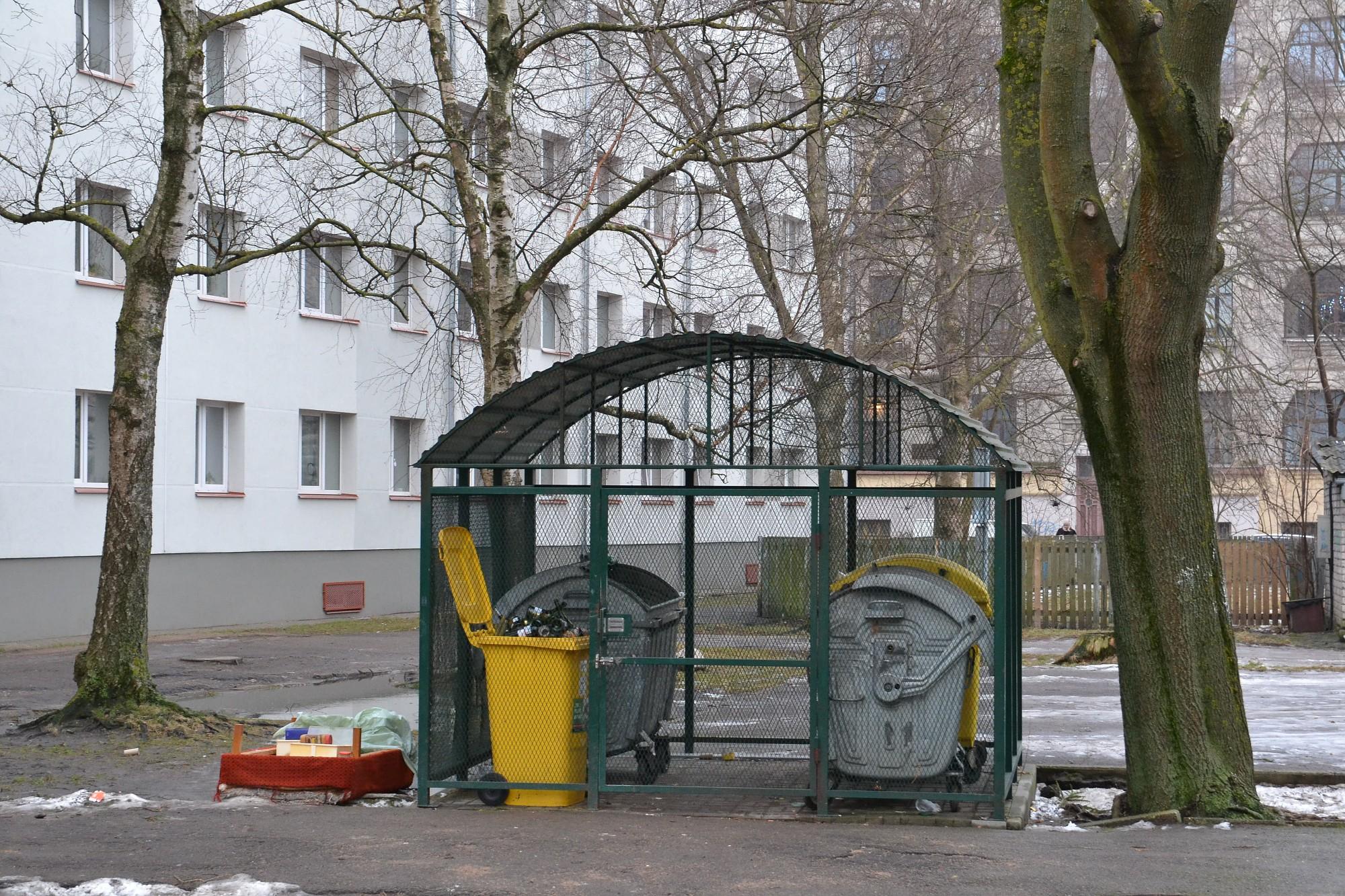 Atkritumu savākšanas punktu izveidei pašvaldība gatava atvēlēt 4000 eiro