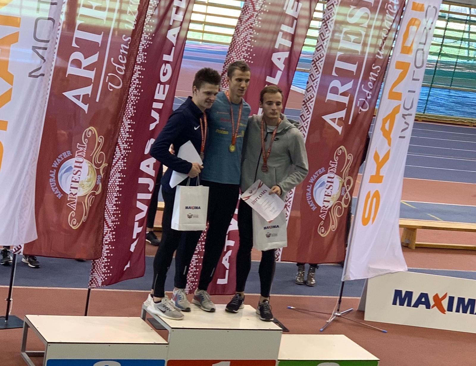 Vieglatlētiem veiksmīgi starti Latvijas čempionātā