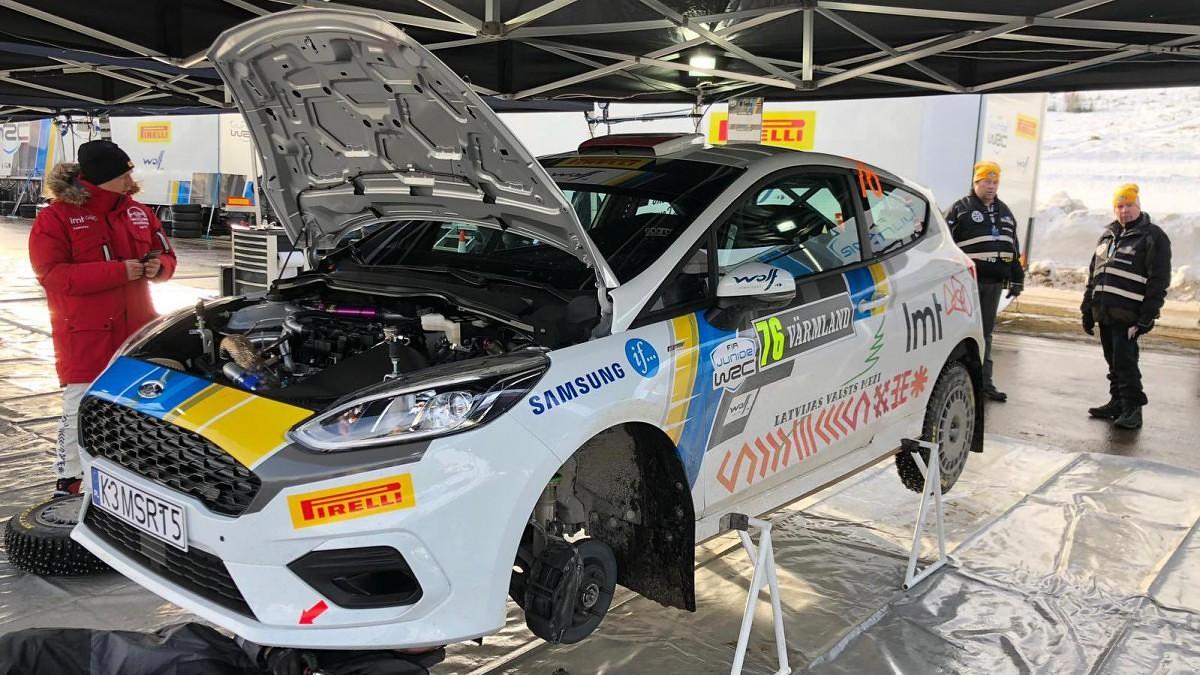 Pēc Zviedrijas WRC rallija pirmās dienas Sesks/Caune otrie savā klasē