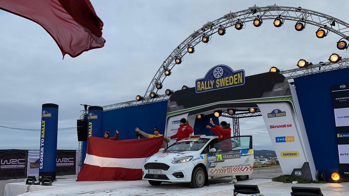 Papildināts – Sesks/Caune izcīna sesto vietu JWRC klasē