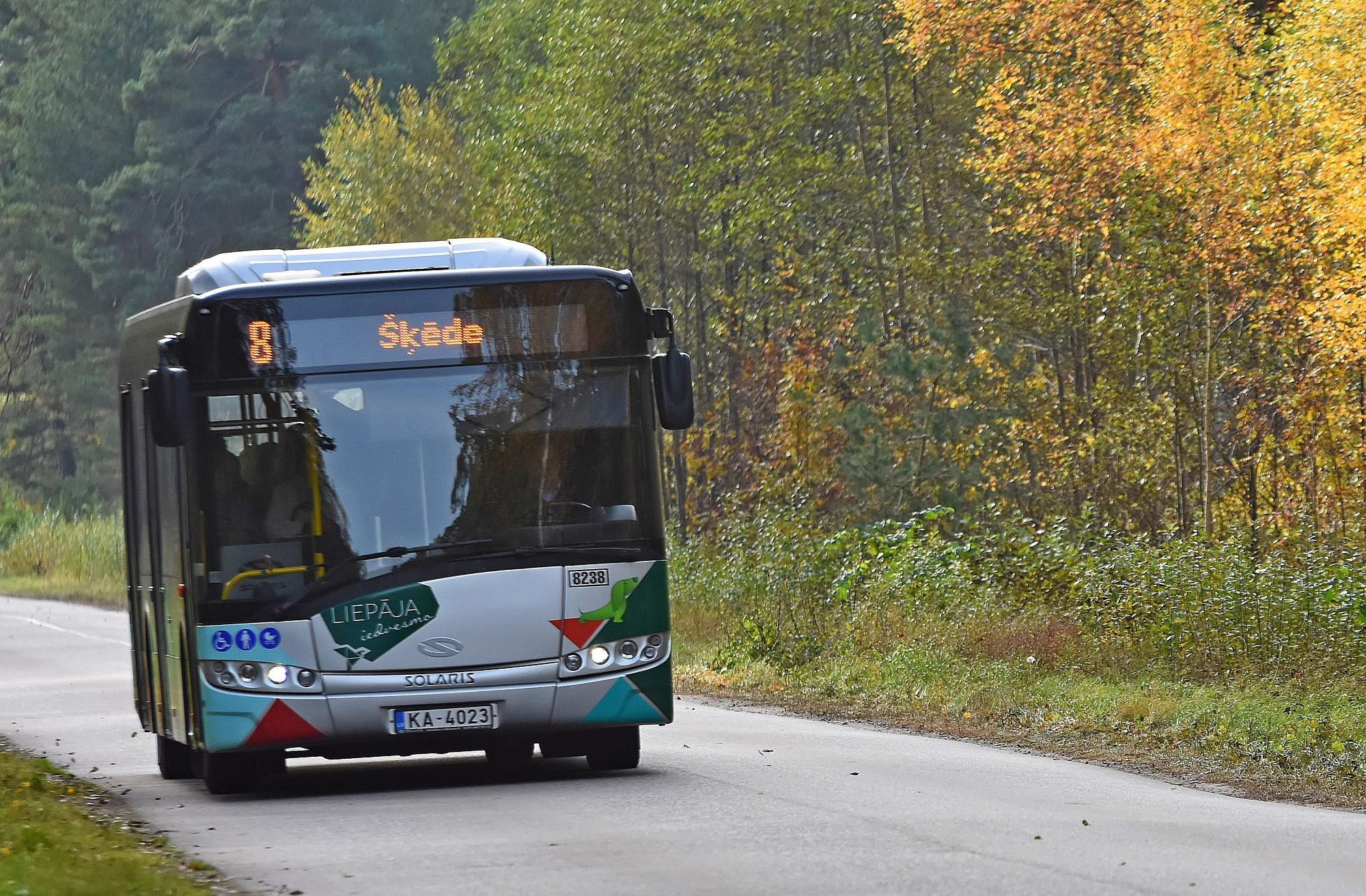 8. maršruta autobusi atsāks kursēt pēc pavasara kustības saraksta