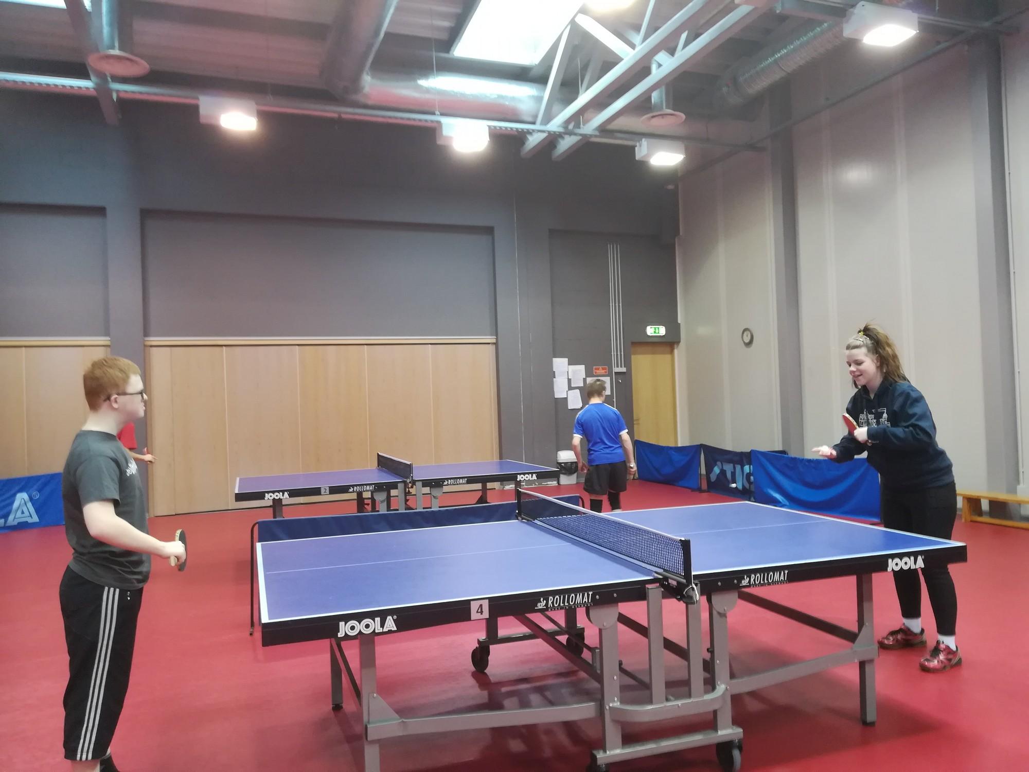 Aizvada pingponga sporta festivālu