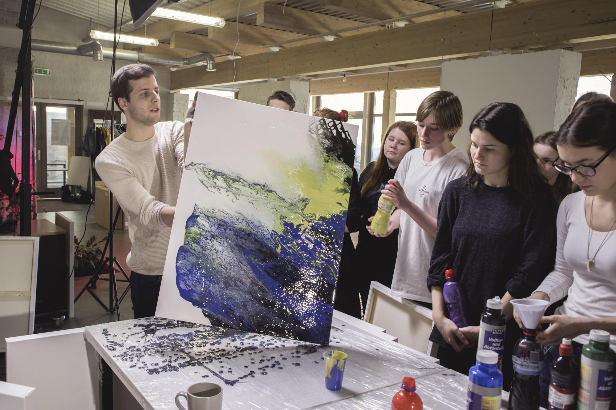 Gleznošanas konkursa darbus eksponēs izstādē