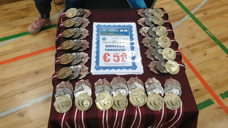 Pirmo reizi Eiropas badmintona U-17 reitinga turnīrs Latvijā