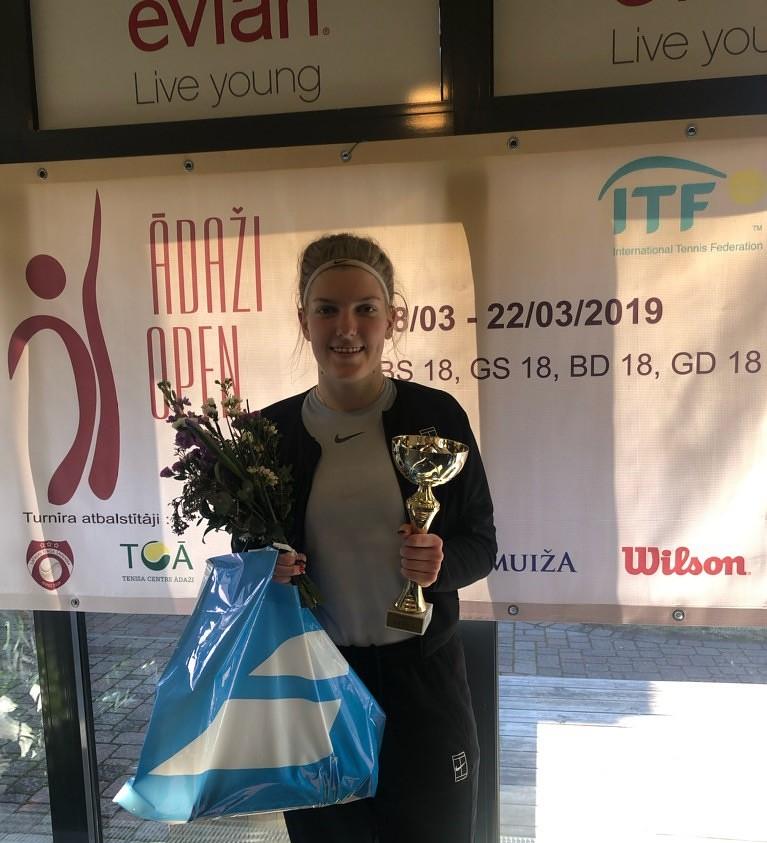Elza Tomase gūst uzvaru starptautiskā turnīrā