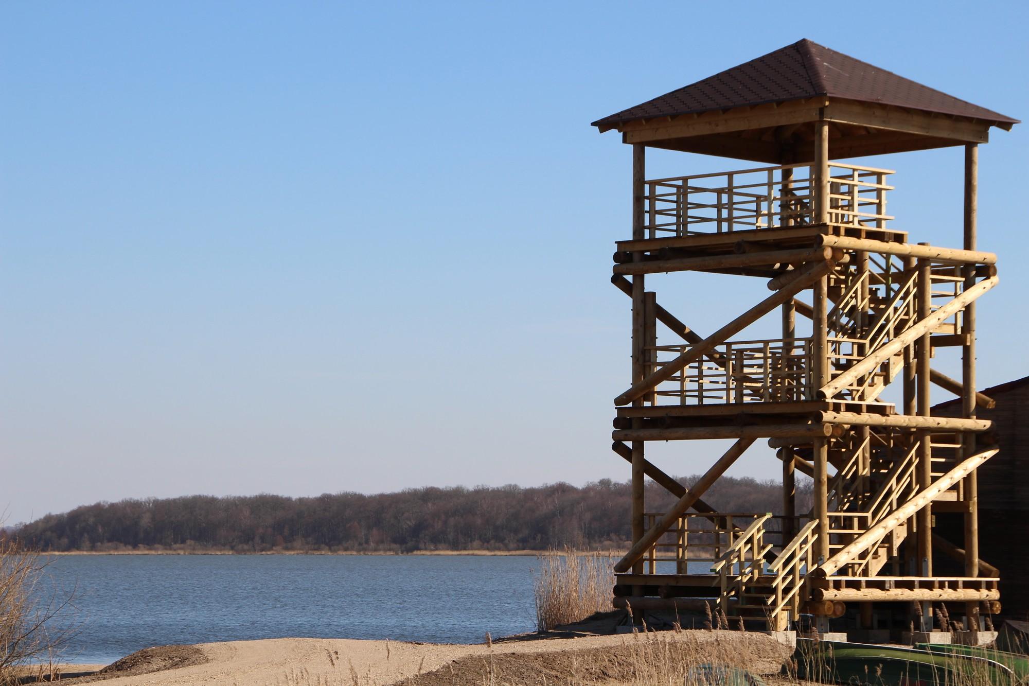 Durbes ezera rietumu krastā atklās skatu torni