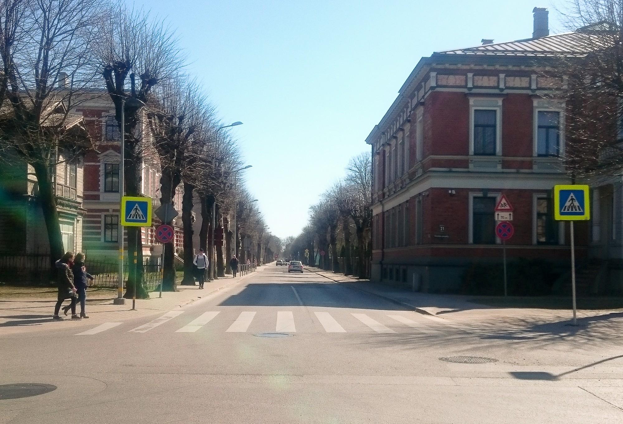 Satiksmes drošību uzlabos, pārveidojot K.Ūliha un Vītolu ielas krustojumu