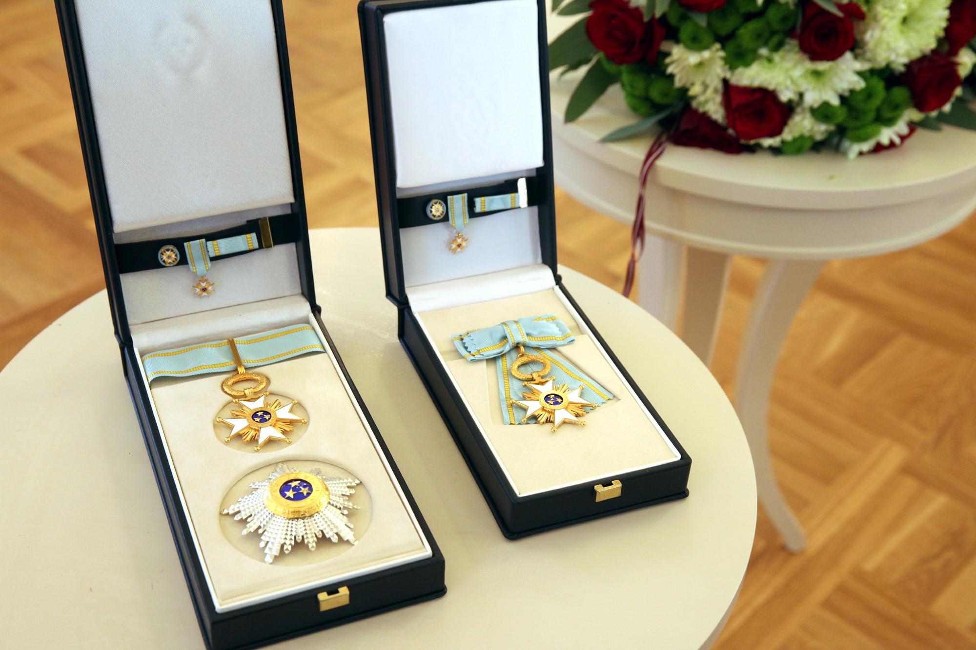 Maijai Krīgenai Triju Zvaigžņu ordenis