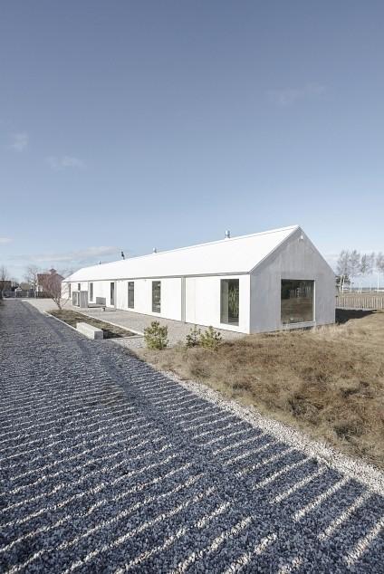 Moderna zvejnieku māja