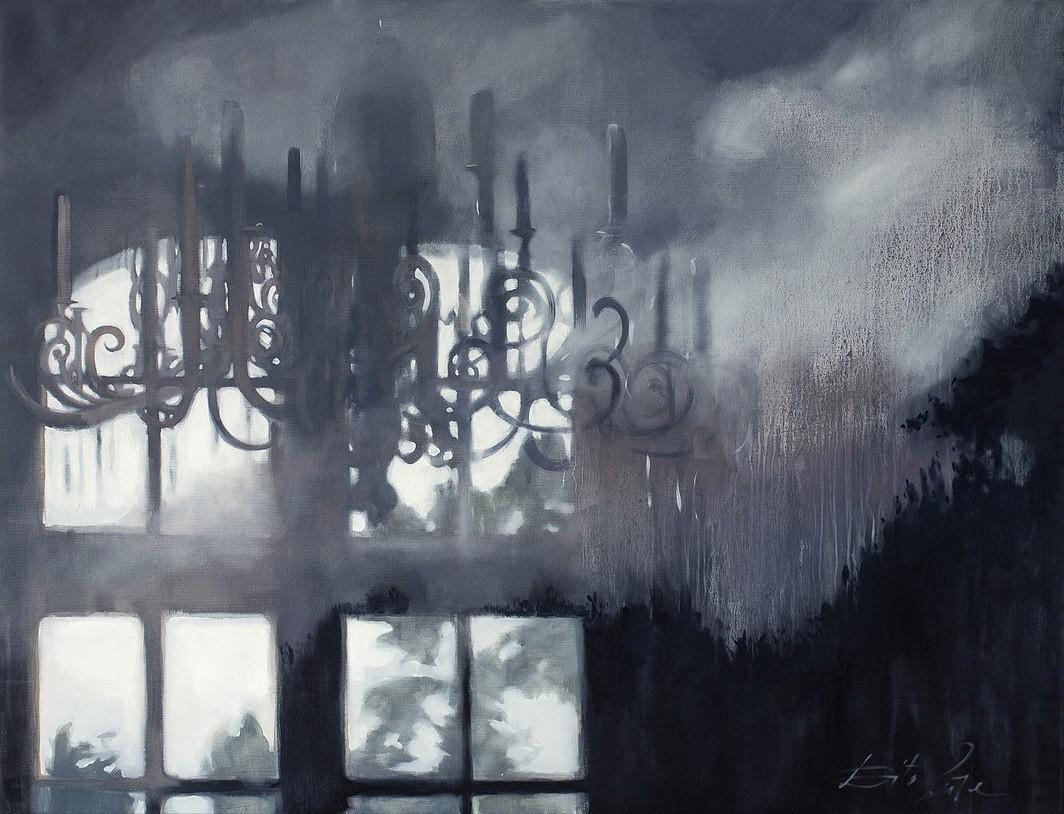 Atklās mākslinieces Ditas Lūses gleznu izstādi