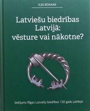 Centrālā bibliotēka dāvinājumā saņem grāmatu par latviešu biedrībām