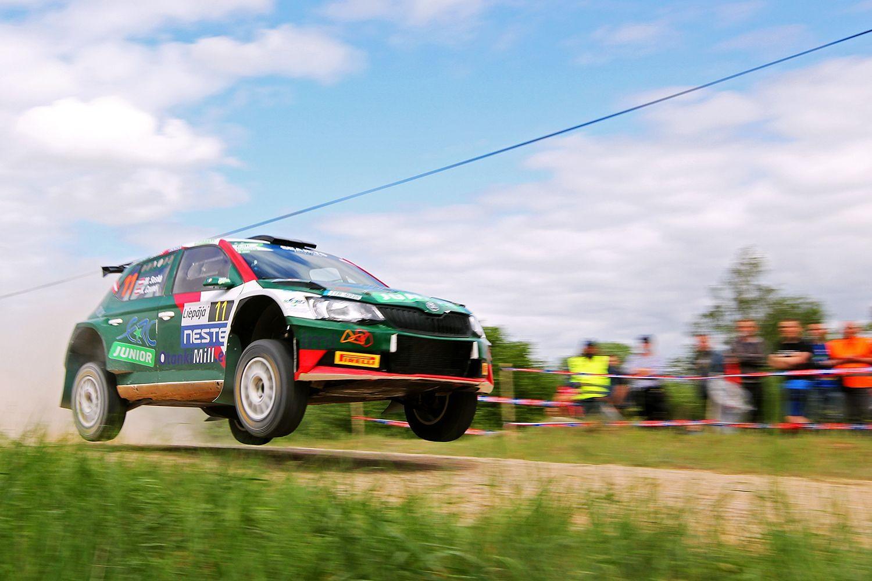 """""""Rally Liepāja"""" pirmajā dienā ātrākais norvēģis, liepājnieks – trešais"""