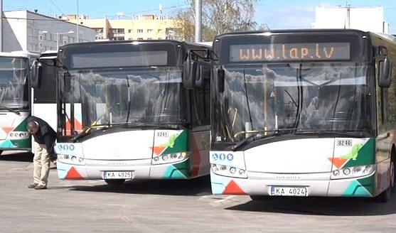 """Streika gadījumā uzņēmumu """"Liepājas autobusu parks"""" gaida naudas sods"""