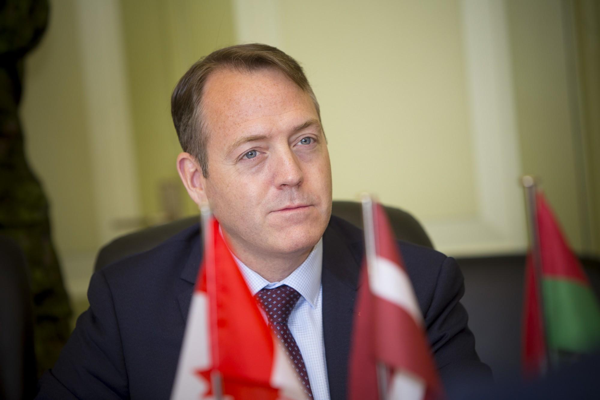 Liepāju iepazīšanās vizītē apmeklē Kanādas vēstnieks