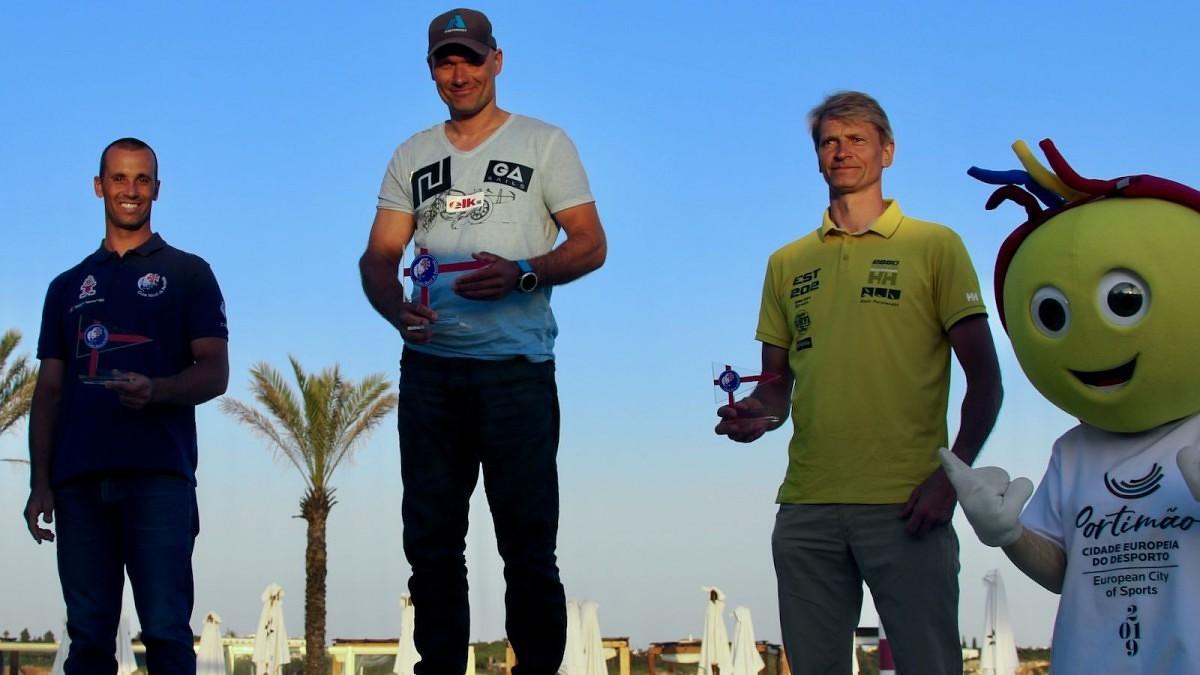 """Preiss atkal kļuvis par pasaules čempionu """"Formula Windsurfing"""" klasē"""