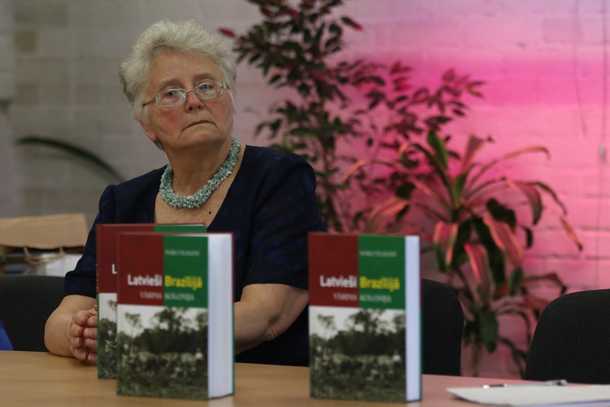 Nora Vilmane izdod grāmatu par latviešiem Brazīlijā