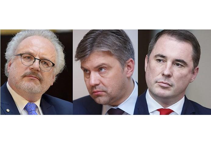 Prezidenta amatam varētu būt trīs kandidāti