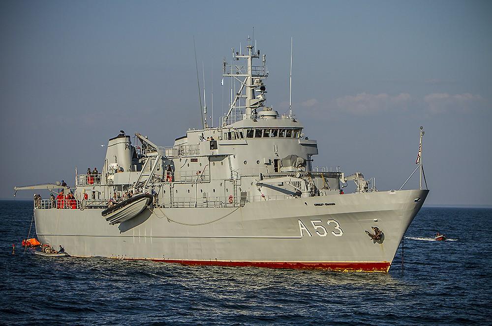 Noslēdzas starptautiskās Jūras spēku mācības