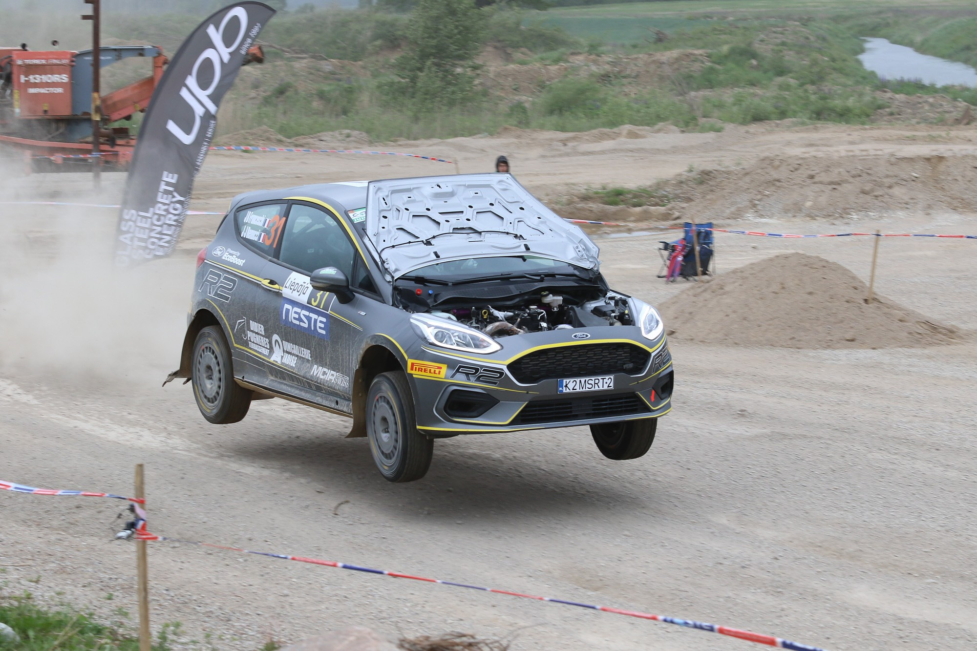 Autosportisti demonstrē meistarību ātrumsposmos mūspusē