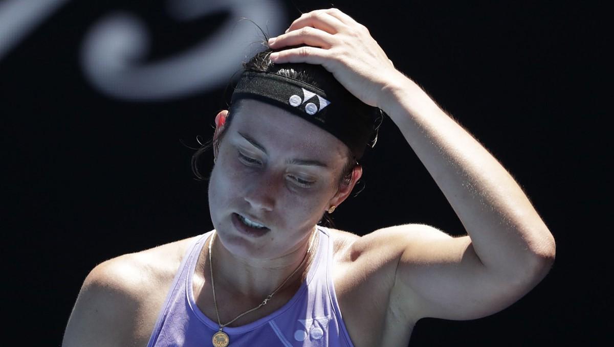 Sevastova salūst mača vidū un noslēdz gaitas Romas WTA turnīra vienspēlēs