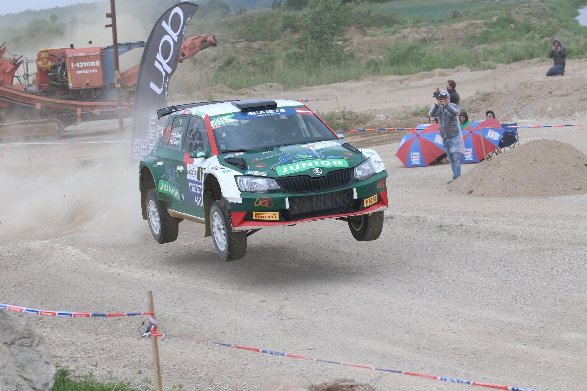 """Mārtiņš Sesks – trešais ātrākais """"Rally Liepāja""""; ātrākais no latviešiem"""